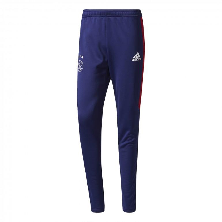 Pantalon survêtement Ajax Amsterdam bleu rouge 2017/18