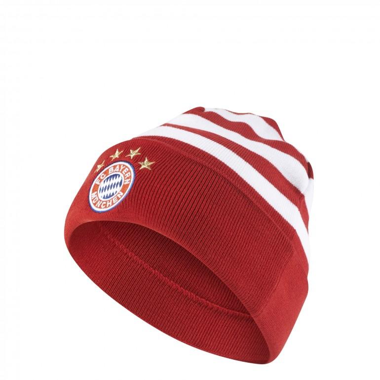 Bonnet Bayern Munich rouge blanc 2017/18