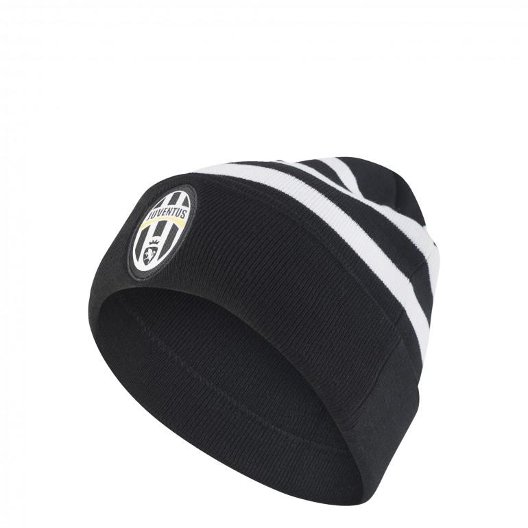 Bonnet Juventus 3S noir blanc 2017/18