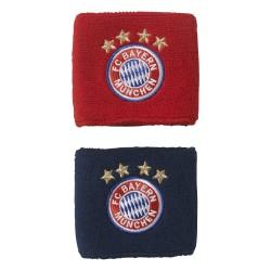 Serre-poignet Bayern Munich rouge bleu 2017/18