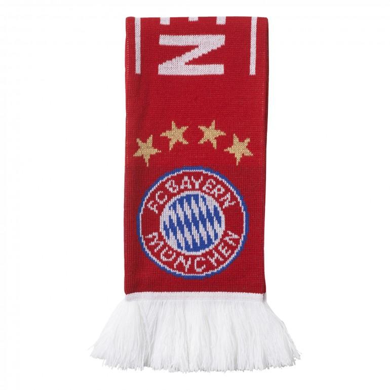 Echarpe Bayern Munich rouge blanc 2017/18