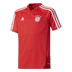 Maillot entraînement junior Bayern Munich rouge 2017/18