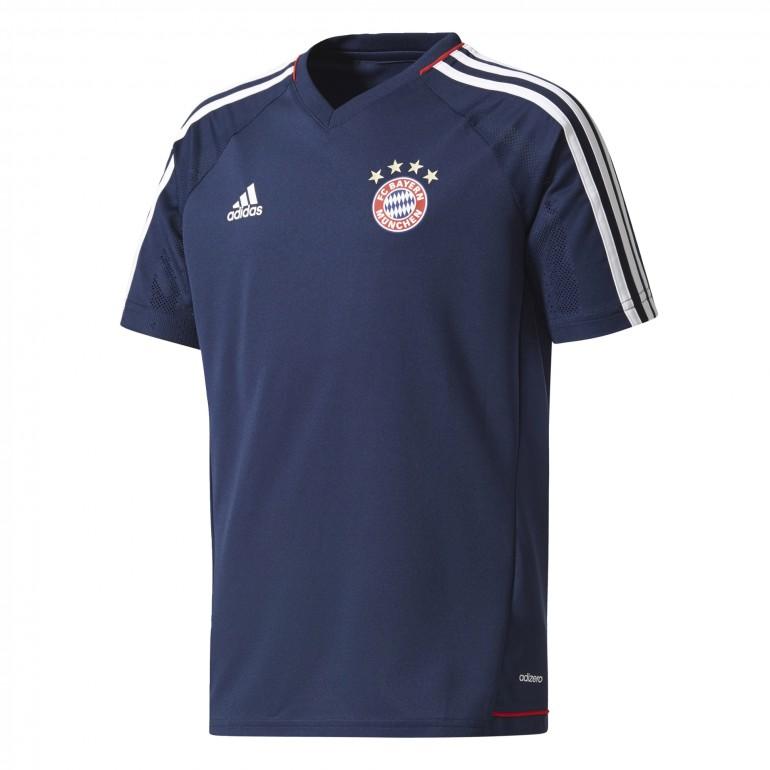 Maillot entraînement junior Bayern Munich bleu foncé 2017/18