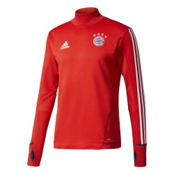 Sweat entraînement Bayern Munich rouge 2017/18