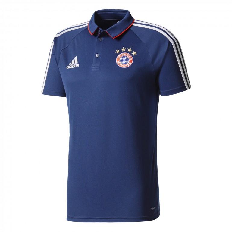 Polo Bayern Munich bleu foncé 2017/18