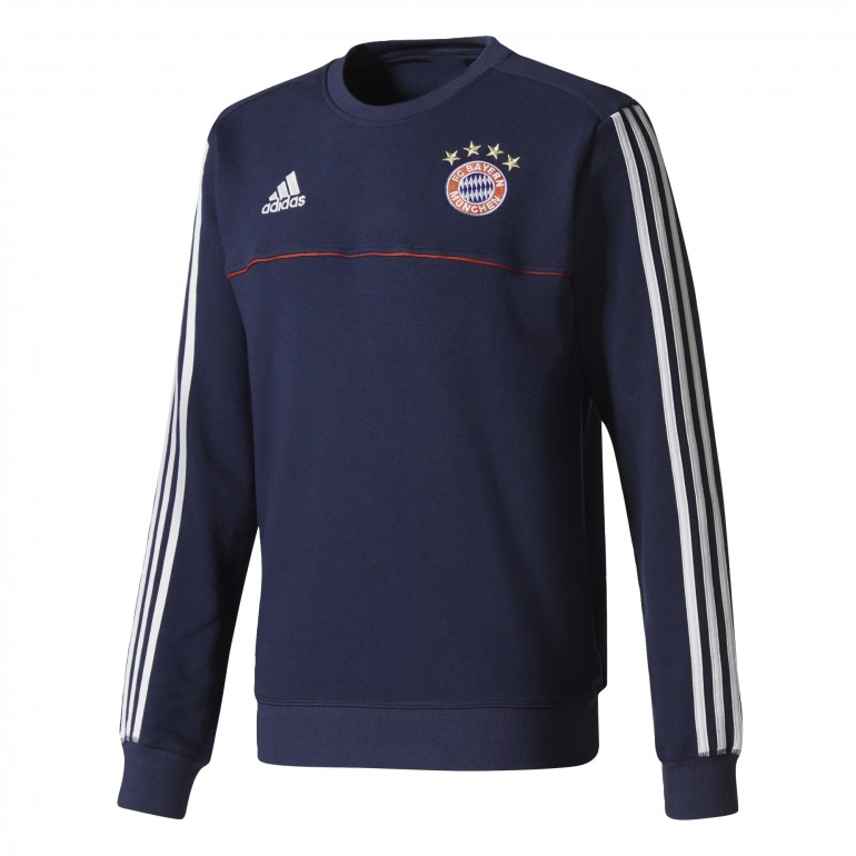 Sweat entraînement Bayern Munich bleu foncé 2017/18