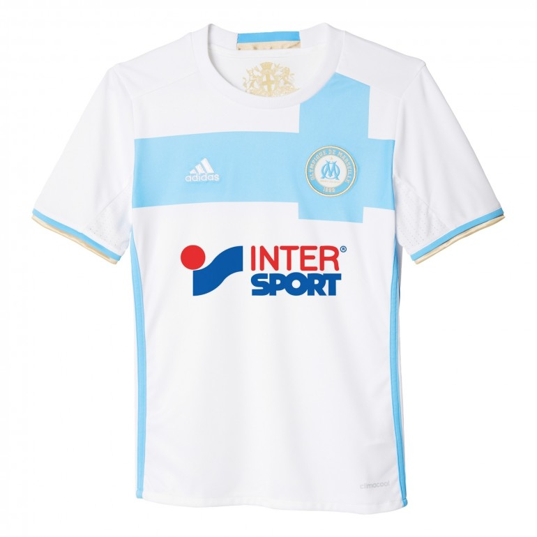 Maillot OM domicile junior 2016 - 2017