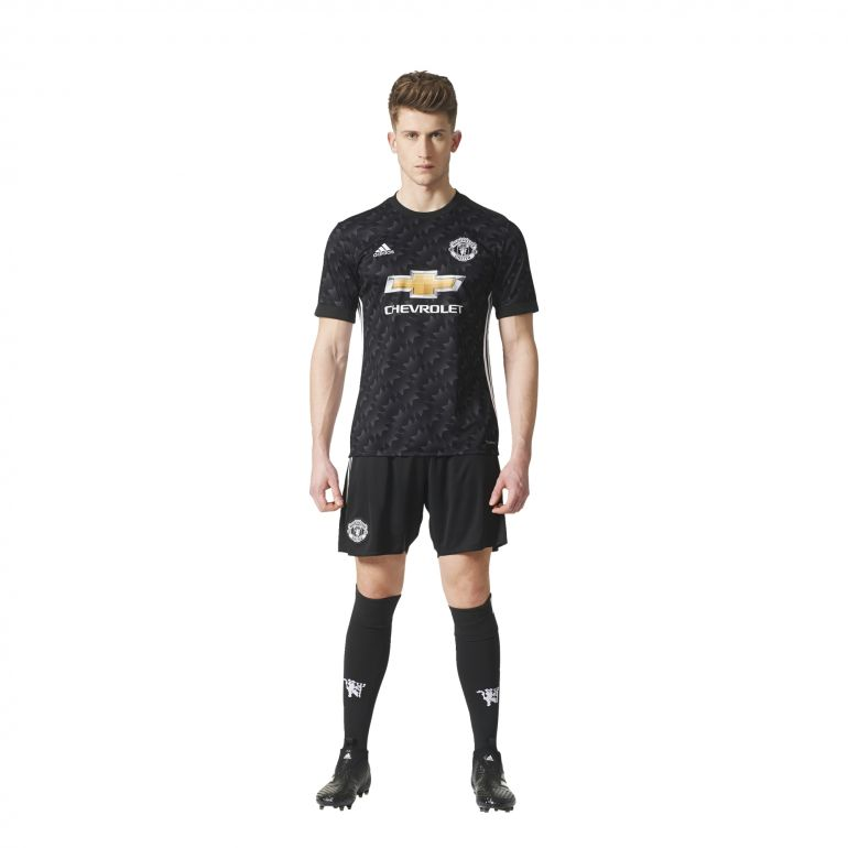 Maillot manchester united ext rieur 2017 18 sur for Manchester united exterieur