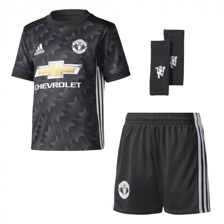 Ensemble enfant manchester united ext rieur 2017 18 sur for Manchester united exterieur 2017