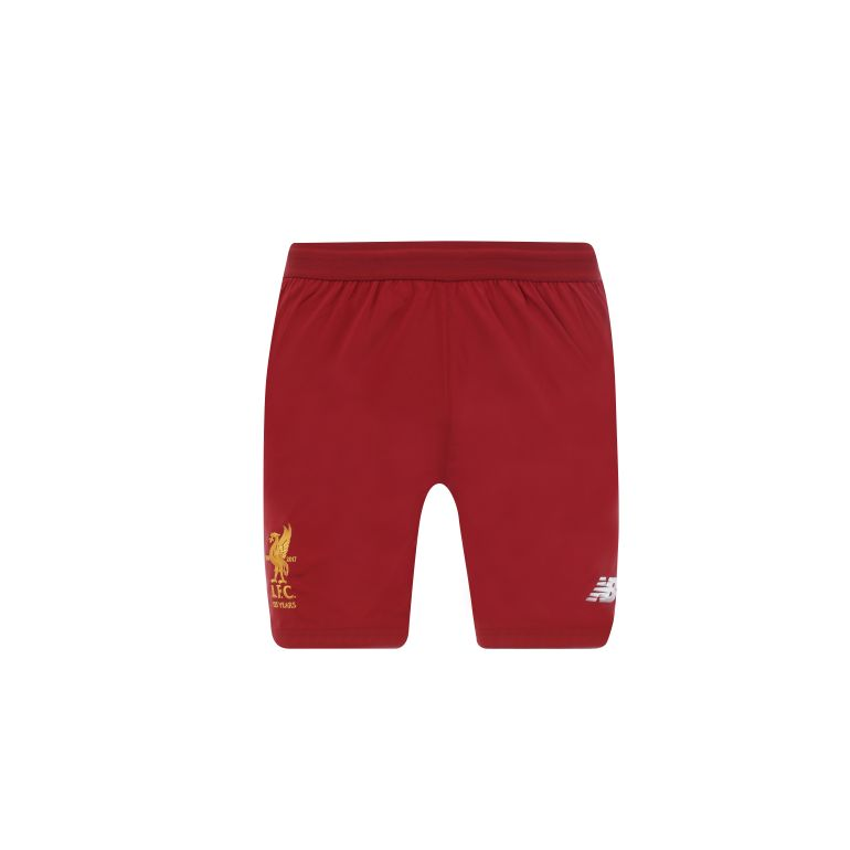 Short Liverpool domicile 2017/18