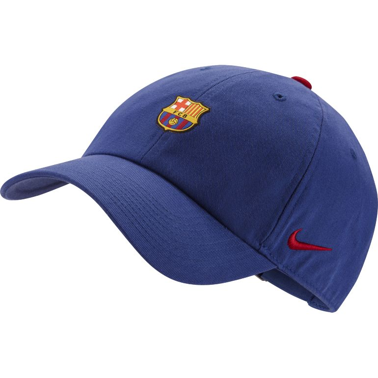 Casquette FC Barcelone Heritage86 bleu 2017/18