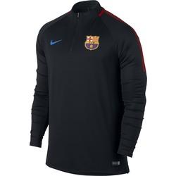 Sweat zippé FC Barcelone noir gris 2017/18