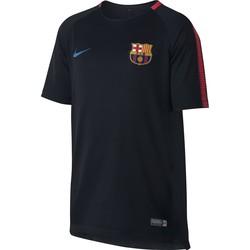 Maillot entraînement junior FC Barcelone noir rouge 2017/18
