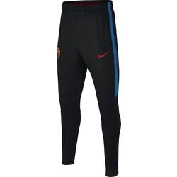 Pantalon survêtement junior FC Barcelone noir bleu 2017/18
