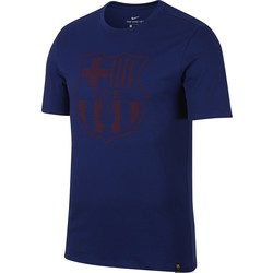 T-shirt FC Barcelone bleu foncé 2017/18