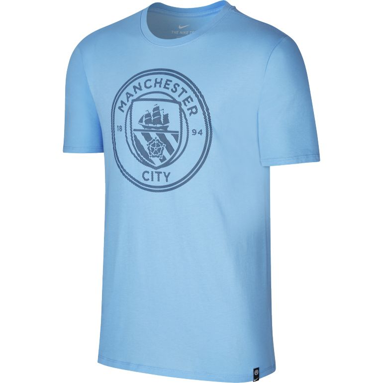T-shirt Manchester City bleu 2017/18