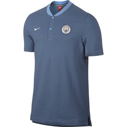 Polo Manchester City bleu 2017/18