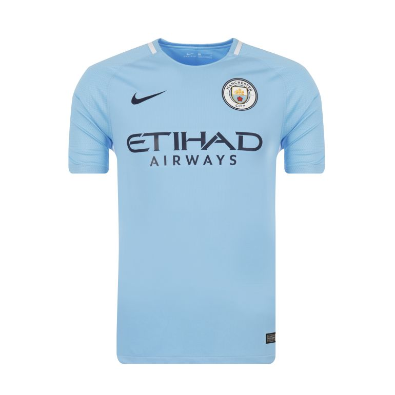 Maillot Manchester City domicile 2017/18