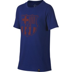 T-Shirt Junior FC Barcelone bleu 2017/18