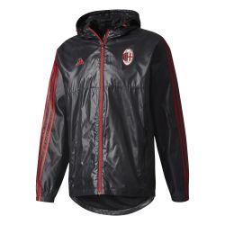 Coupe vent Milan AC noir rouge
