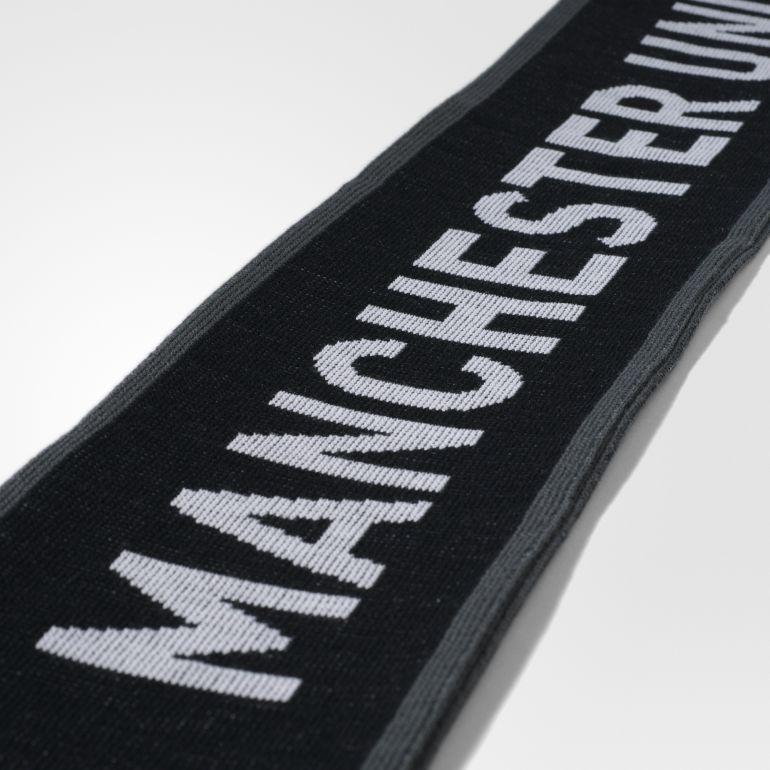 Echarpe Manchester United noir blanc 2017/18