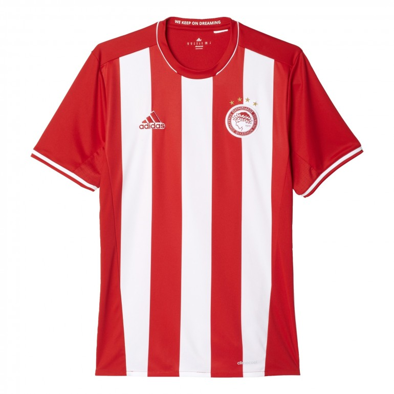 Maillot Olympiakos domicile 2016 - 2017
