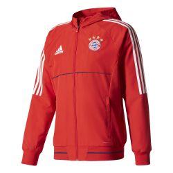 Veste survêtement Bayern Munich rouge 2017/18