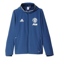 Veste avant-match Manchester United bleue 2016 - 2017