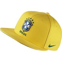 Casquette visière plate Brésil jaune 2016