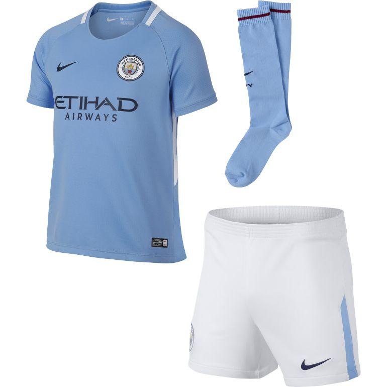 Ensemble enfant Manchester City domicile 2017/18