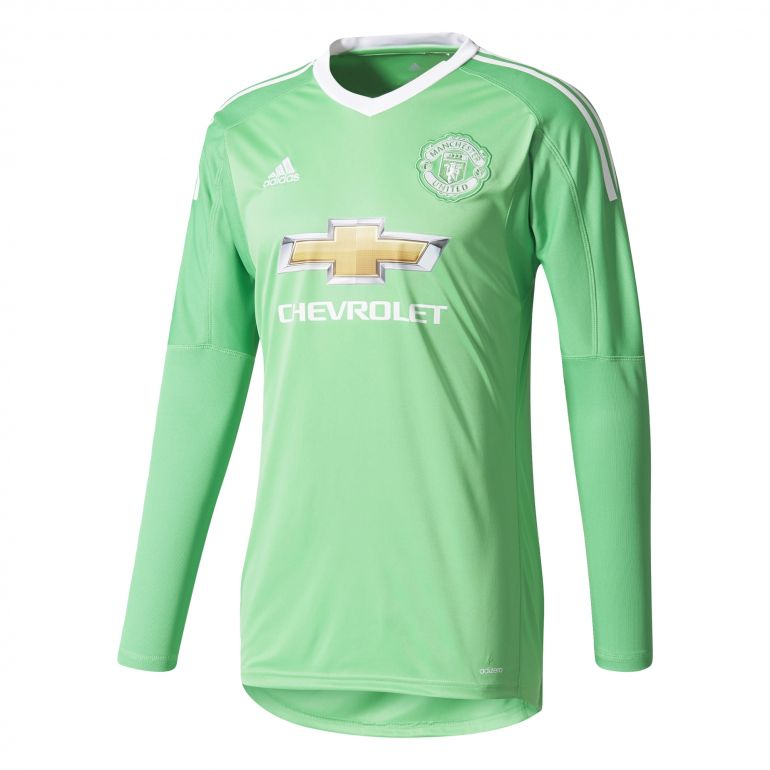 Maillot gardien manchester united manches longues for Manchester united exterieur 2017