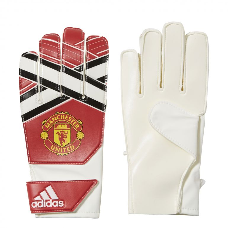 Gants gardien junior Pro Manchester United rouge 2017/18
