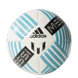 Mini ballon glider Messi blanc noir