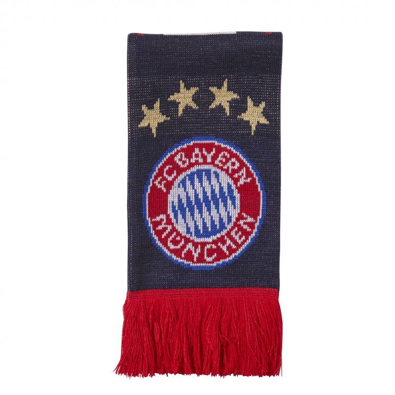Echarpe Bayern Munich blanc rouge 2017/18