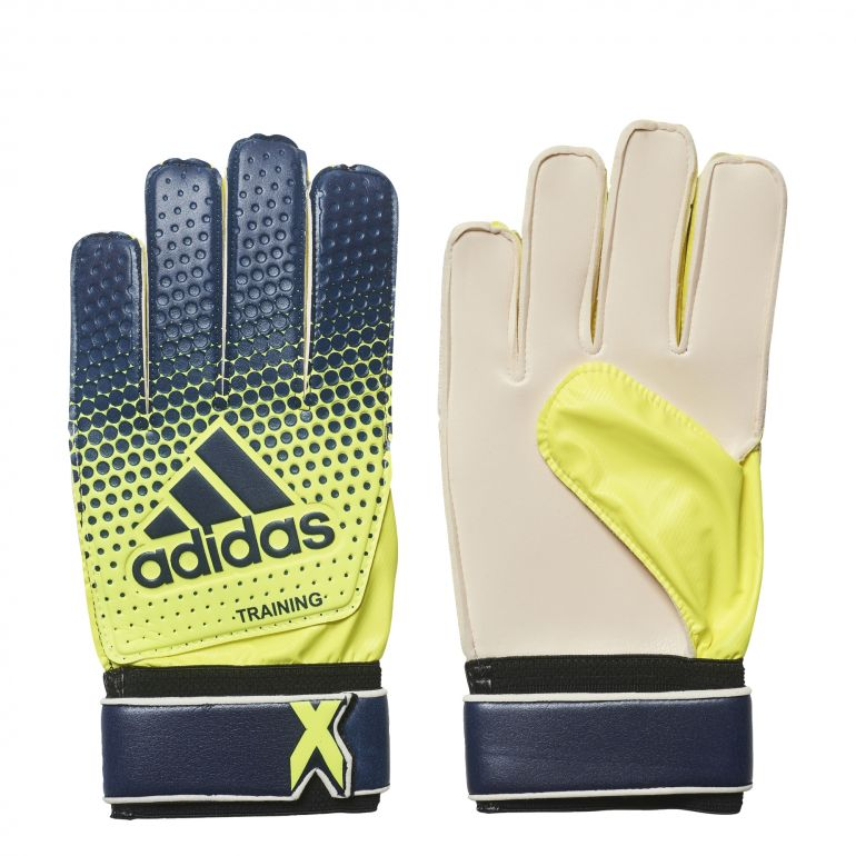 Gants gardien X Training jaune