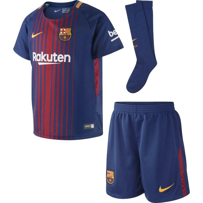 Ensemble enfant FC Barcelone domicile 2017/18