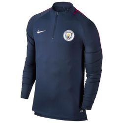Sweat zippé junior Manchester City bleu 2017/18