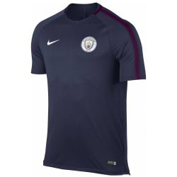 Maillot entraînement junior Manchester City bleu 2017/18