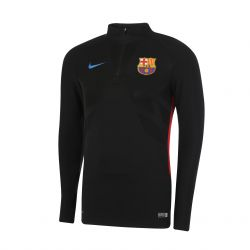 Sweat zippé FC Barcelone Strike noir 2017/18