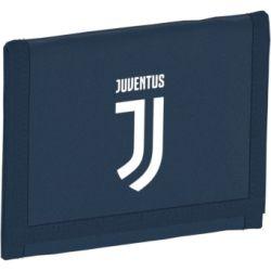 Portefeuille Juventus bleu blanc 2017/18