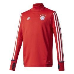 Sweat entraînement junior Bayern Munich rouge 2017/18