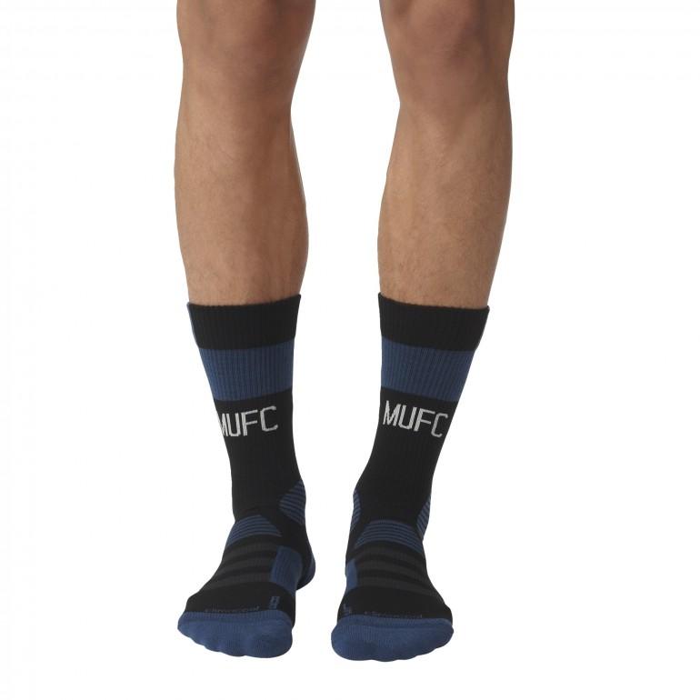 Chaussettes entraînement Manchester United bleu et noir