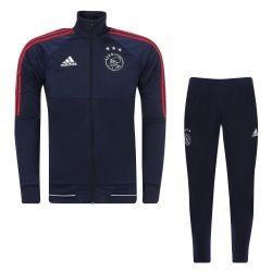 Ensemble survêtement Ajax Amsterdam bleu rouge 2017/18