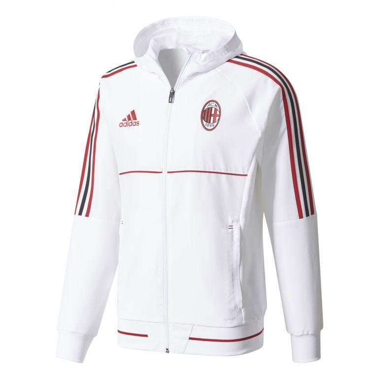 Veste survêtement Milan AC blanc 2017/18