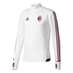 Sweat entraînement Milan AC blanc 2017/18