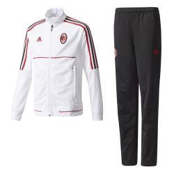 Ensemble survêtement junior Milan AC blanc noir 2017/18
