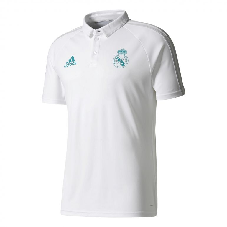 Polo Real Madrid blanc 2017/18