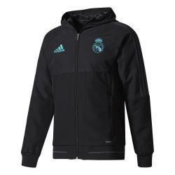Veste survêtement Real Madrid noir 2017/18