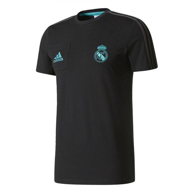 T-shirt Real Madrid noir 2017/18