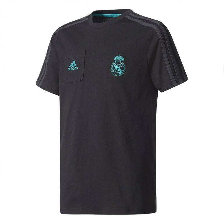 T-shirt junior Real Madrid noir 2017/18
